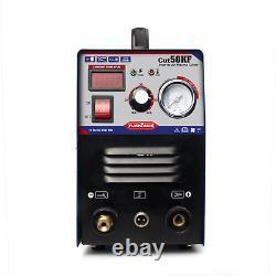 Portable Electric Digital Plasma Cutter Cut50 110/220v Compatible & Accessories