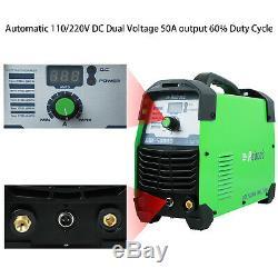 REBOOT 50 Amp Plasma Cutter, Pro. Cutting Machine, 110/220V Dual Voltage RBC-50D