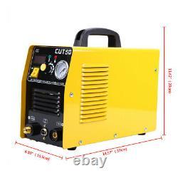 Ridgeyard 50 AMP Plasma Cutter CUT50 Cutting Machine Digital Inverter 110/60HZ