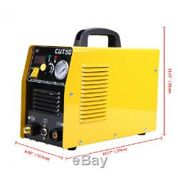 Ridgeyard Electric LCD Inverter Air Plasma Cutter 50A Cutting Machine Dual Volt