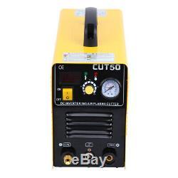 Ridgeyard Electric LCD Inverter Air Plasma Cutter 50AMP Cutting Machine
