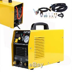 Ridgeyard Plasma Cutter Digital Inverter 110/220V Dual Voltage Cutting Machine