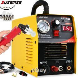 SUSEMSE CUT50 50Amp Non-Touch Pilot Arc AG-60 Torch Plasma Cutter CNC compatible
