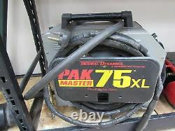 Thermal Dynamics Pak 75xl plasma cutter with manual cuts up to 3/4
