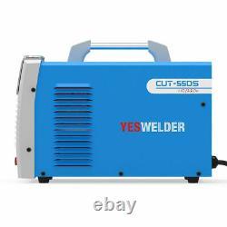 YESWELDER 55 Amp Plasma Cutter/Cutting Machine, 110/220V Dual Voltage CUT-55